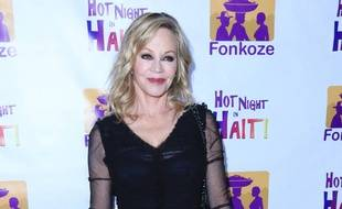 Melanie Griffith lors du gala de bienfaisance Hot Night in Haiti