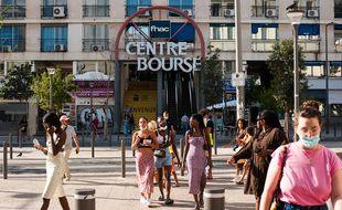 Centre Bourse à Marseille connaît une baisse de sa fréquentation