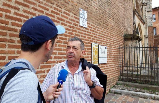 Jean-Luc Fernandez, le président des chasseurs de l'Ariège, le 2 juillet 2020 à Toulouse.