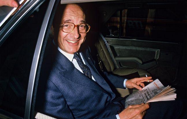 Jacques Chirac, en 1986.