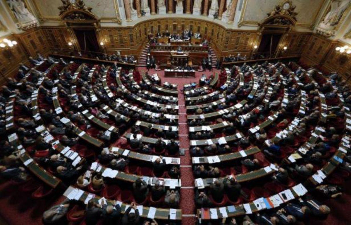 Vue générale du Sénat le 28 octobre 2014 – François Guillot AFP
