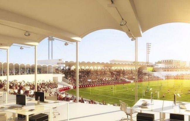 Aménagement du stade Chaban Delmas dans le cadre du projet Lescure