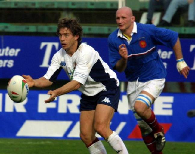 Diego Dominguez à l'époque où on mettait 50 points à l'Italie.