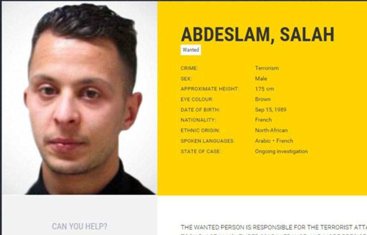 Capture d'une photo de Salah Abdeslam. – SIPANY/SIPA