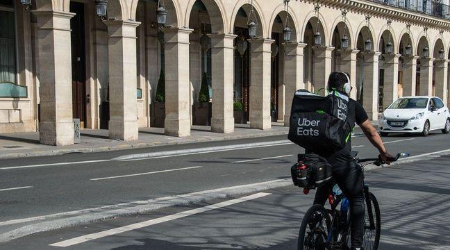 Non, Uber Eats n'a pas recruté en vue d'un renforcement du couvre-feu