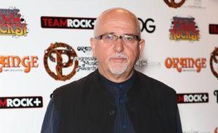 Le musicien Peter Gabriel
