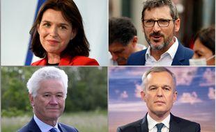 Christelle Morançais, Matthieu Orphelin, Hervé Juvin et François de Rugy briguent la présidence des Pays-de-la-Loire.