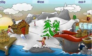 Sauvez le renne Rudolph en balançant des boules de neige sur Sarah Palin
