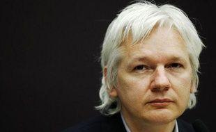 Julian Assange à Londres, le 1er décembre 2011.