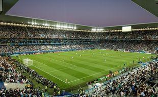 Le stade Matmut Atlantique à l'occasion du quart de finale de l'Euro entre l'Allemagne et l'Italie disputé le 2 juillet 2016.