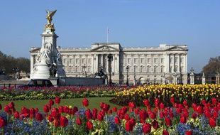 La Palais de Buckingham, palais londonien de la Reine d'Angleterre.