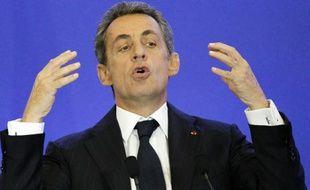 Le président du parti Les Républicains Nicolas Sarkozy à Paris, le 3 novembre 2015