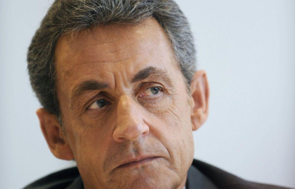 L'ancien chef de l'Etat Nicolas Sarkozy – GUILLAUME SOUVANT / AFP
