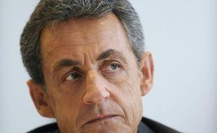 L'ancien chef de l'Etat Nicolas Sarkozy