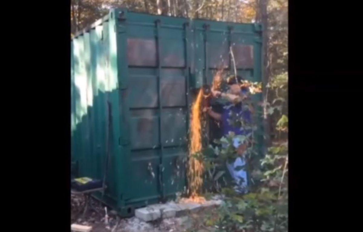 En novembre 2016, Kala Brown était retrouvé dans un conteneur après avoir été enlevée – Capture Youtube