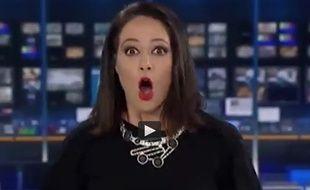 Natasha Exelby a été interdite d'antenne en Australie après une bourde en direct.