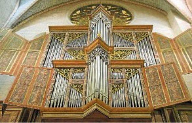 L'orgue des Augustins date du siècle dernier et sera l'une des stars du festival.