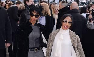 La chanteuse Willow Smith et sa mère, l'actrice Jada Pinkett Smith