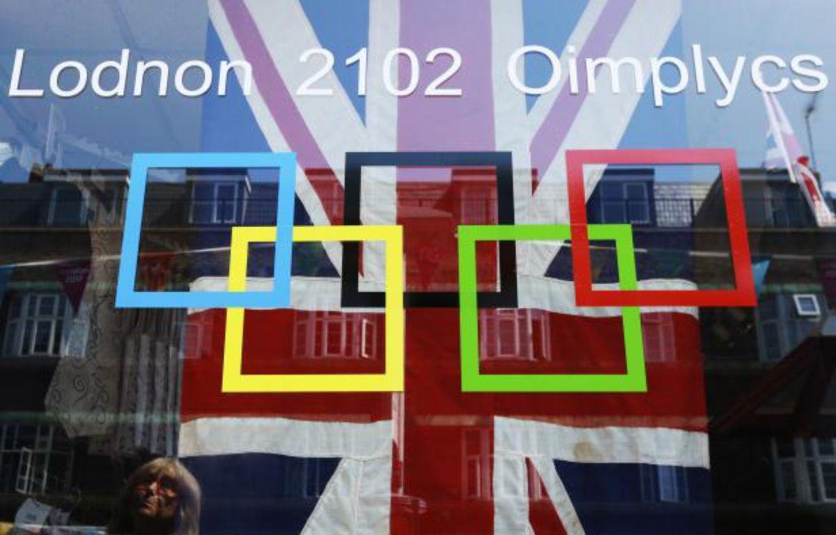 Le logo des Jeux de Londres 2012. – O.Harris / REUTERS
