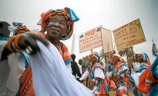 Hier, place de l'Obélisque à Dakar, il y avait surtout des militants.