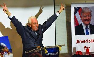 Roger Stone lors d'un meeting le 23 octobre 2018
