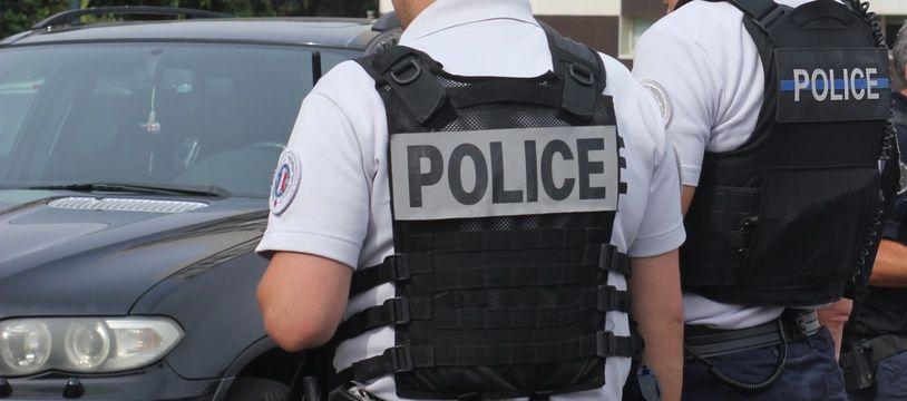 Illustration d'une patrouille de police, ici à Rennes.
