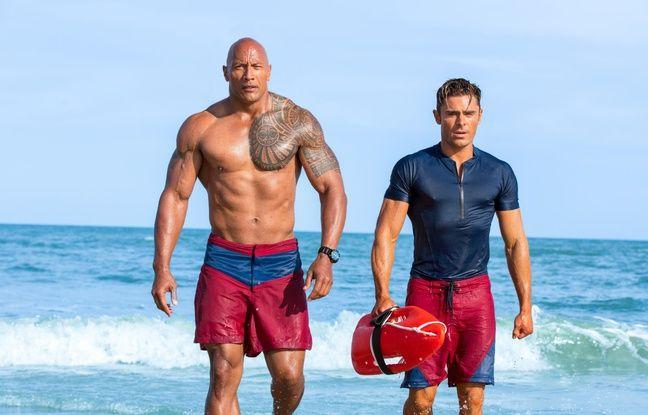 Dwayne Johnson et Zac Efron dans Baywatch - Alerte à Malibu de Seth Gordon