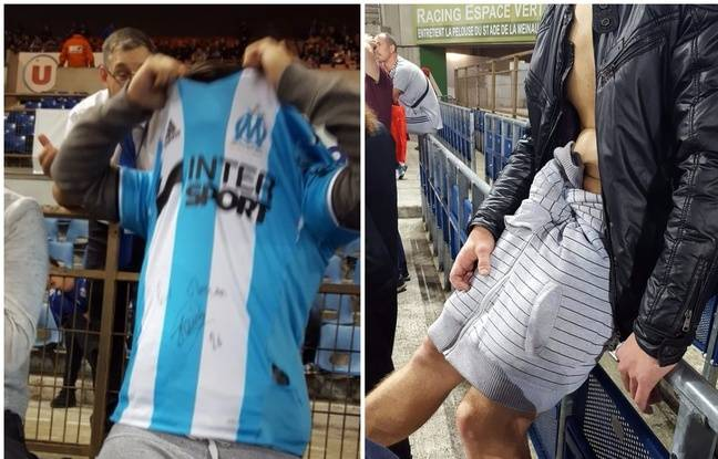 «C'est une humiliation!» Un supporter a dû assister au match Strasbourg-OM en caleçon