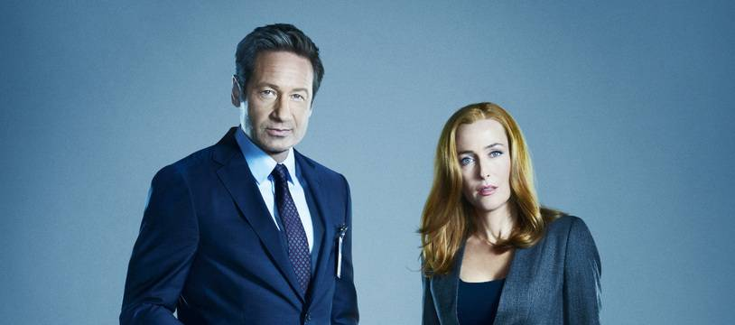 Les acteurs David Duchovny et Gillian Anderson dans leurs rôles des agents Fox Mulder et Dana Scully dans la série «X-Files»