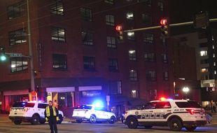 Un policier a foncé dans une foule avec sa voiture samedi 23 janvier à Tacoma (Etats-Unis).