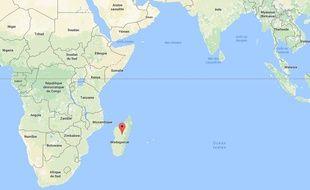 Une tempête tropicale a touché l'île de Madagascar, vendredi 16 mars 2018.