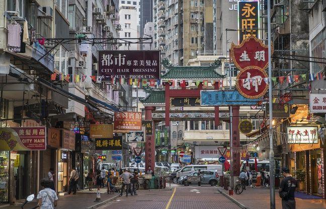 Le quartier de Mong Kok.