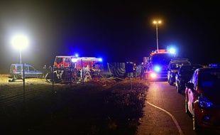 Cinq enfants ont été tués dans un accident sur l'A7, ce lundi 20 juillet 2020.