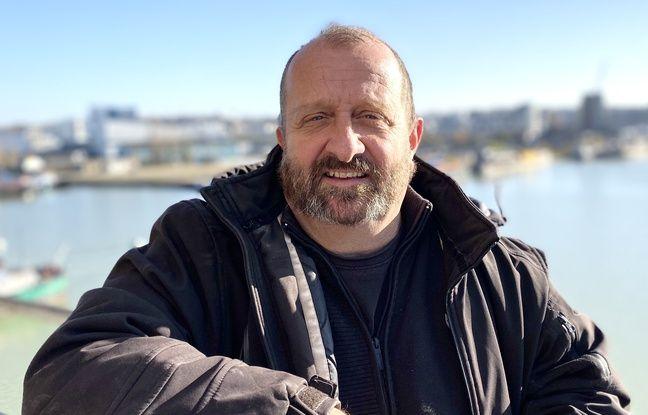 Nicolas Gaudé, de l'entreprise Adrenaline, va superviser le chantier de restauration de la grue Wellman à Bordeaux.