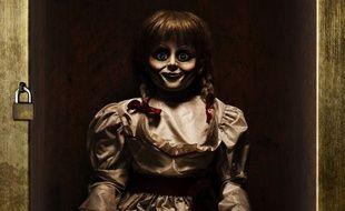 Détail d'une affiche du film «Annabelle 2».
