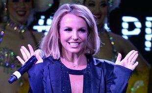 Britney Spears, le 5 novembre 2014, à Las Vegas.