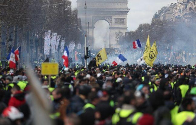 «Gilets jaunes» à Paris: Les manifestations interdites sur les Champs-Elysées samedi pour l'acte 19