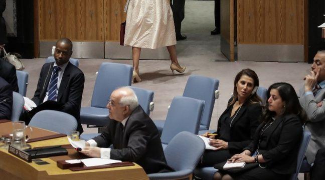 L'ambassadrice des Etats-Unis à l'ONU quitte le Conseil de sécurité quand le représentant palestinien prend la parole