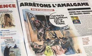Extrait du «Charlie Hebdo» du 30 août 2017