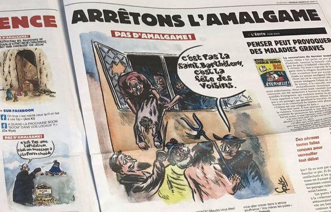 Les immanquables du jour: La polémique «Charlie Hebdo», la mort de Richard Anderson et la réforme du télétravail