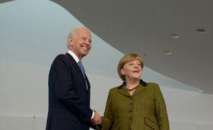 Joe Biden et Angela Merkal en 2013 (photo d'illustration)