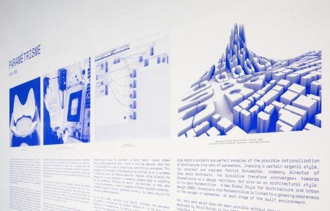 Plaquette de l'exposition du Pavillon de l'Arsenal à Paris