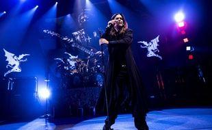 Black Sabbath sur scène à Copenhague au Danemark en novembre 2013.