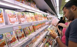Un supermarché vendant des produits halal (illustration).