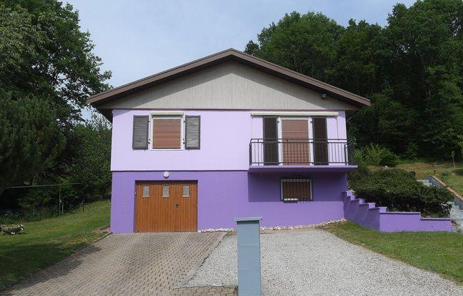 La maison de Marcel et Jacqueline Jacob.