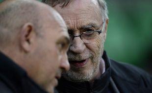Frédéric Antonetti et Michel Seydoux en pleine discussion
