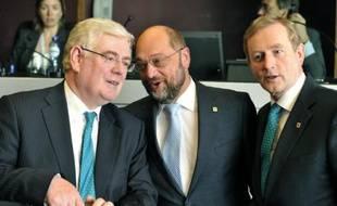 Les dirigeants de l'UE ont donné jeudi satisfaction aux revendications du Parlement européen pour enlever un accord politique sur le budget 2014-2020, quelques heures avant l'ouverture d'un sommet consacré à l'emploi des jeunes.