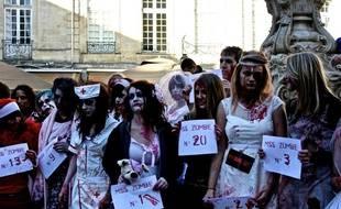 La marche des morts vivants devrait rassembler 3000 personnes environ.