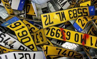 De nombreux motards devront se conformer au nouveau système d'immatriculation avant le 1er juillet (illustration).