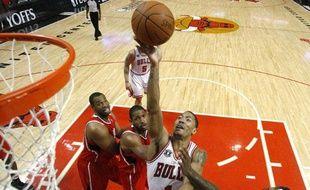 Le meneur de jeu des Chicago Bulls, le 10 mai 2011, àChicago.